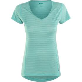 Fjällräven Abisko Cool - T-shirt manches courtes Femme - Bleu pétrole